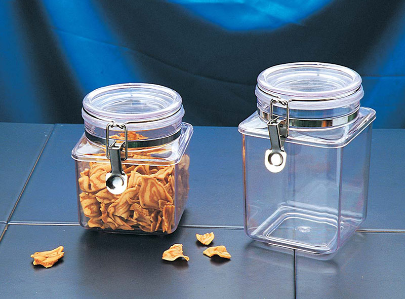 PS AIRTIGHT CANISTER WITH CLAMP