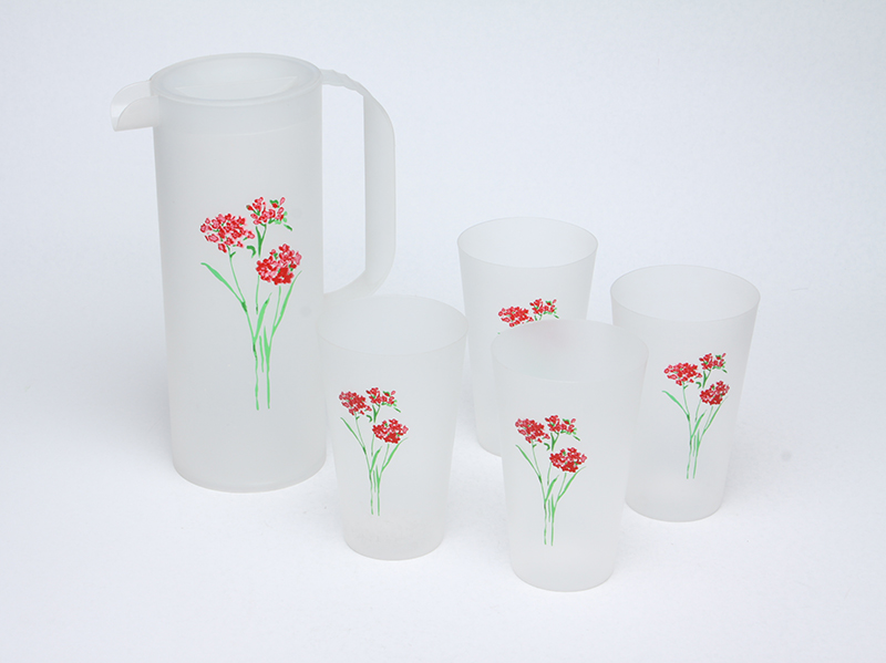 1500ML PP FOODGRADE PITCHER WITH CUPS