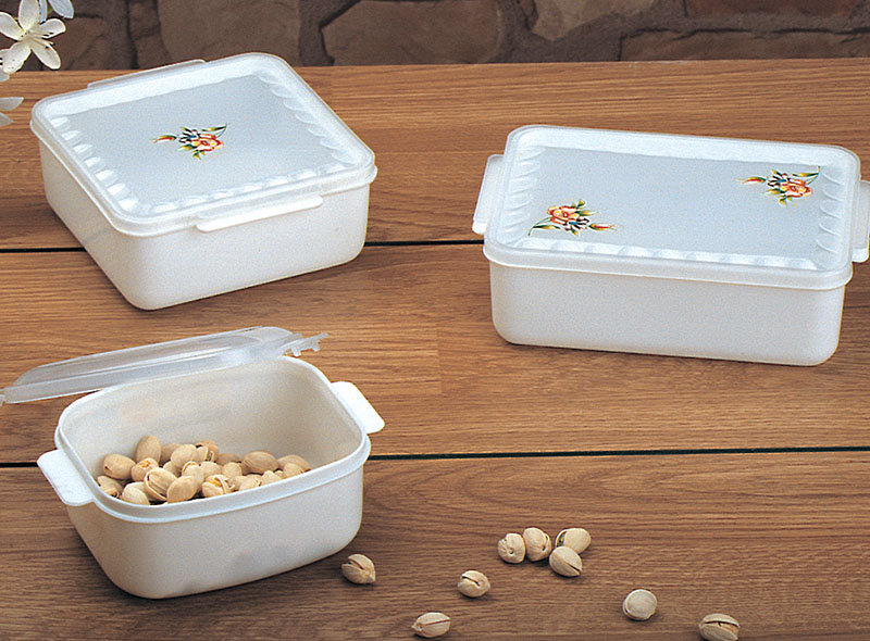 3PCS SQUARE SHAPE FOOD STORAGE BENTO BOX SET